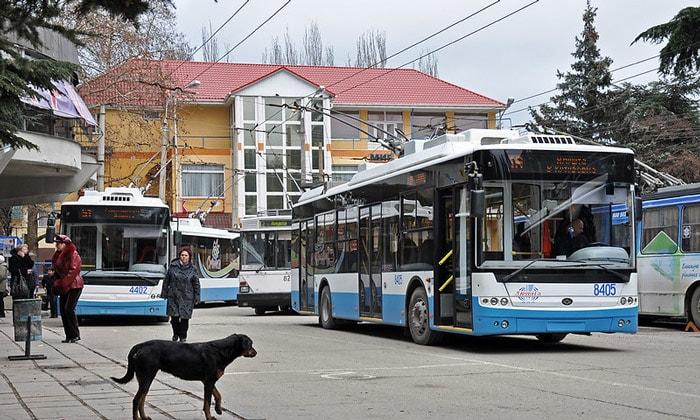Новые троллейбусы Алушты