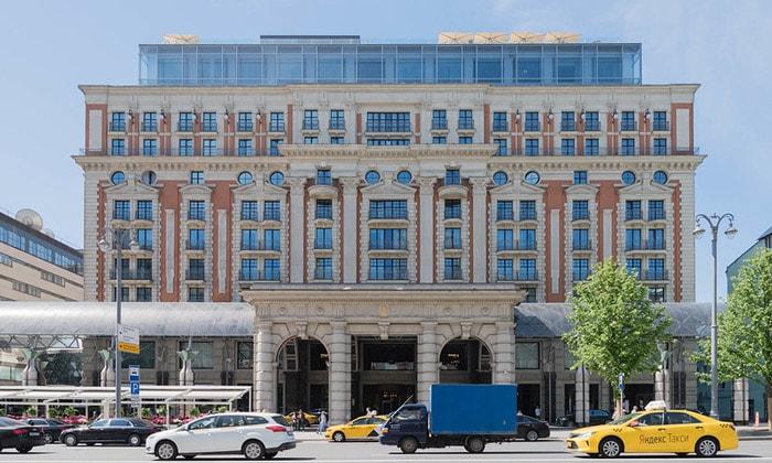Отель сети Ritz-Carlton в Москве