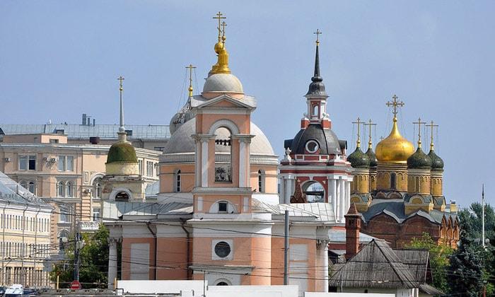Православные церкви Зарядья в Москве