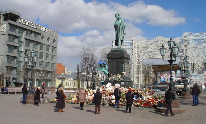 Пушкинская площадь Москвы