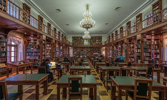 Румянцевский зал в доме Пашкова в Москве