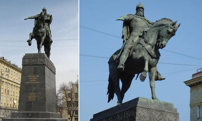 Статуя Юрия Долгорукого в Москве