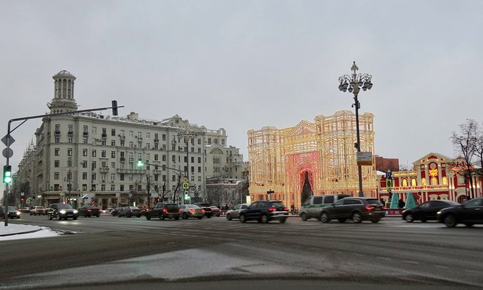 Тверской бульвар в Москве