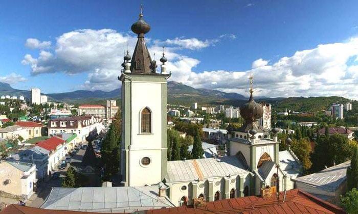 Храм всех Крымских Святых в Алуште