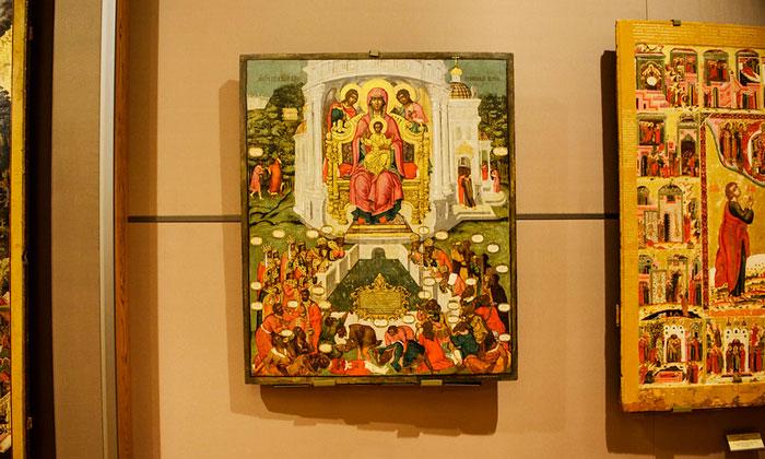 Красочные иконы «Старой» Третьяковки Москвы