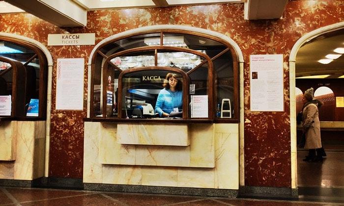 Билетная касса «Старой» Третьяковки в Москве