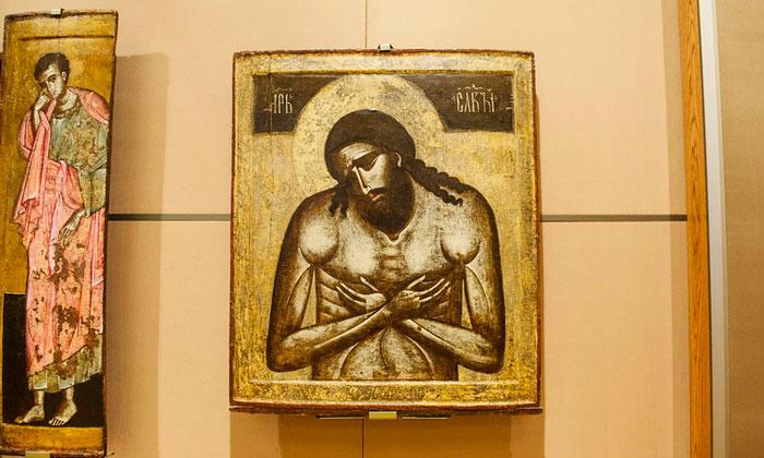 Одна из икон «Старой» Третьяковки Москвы