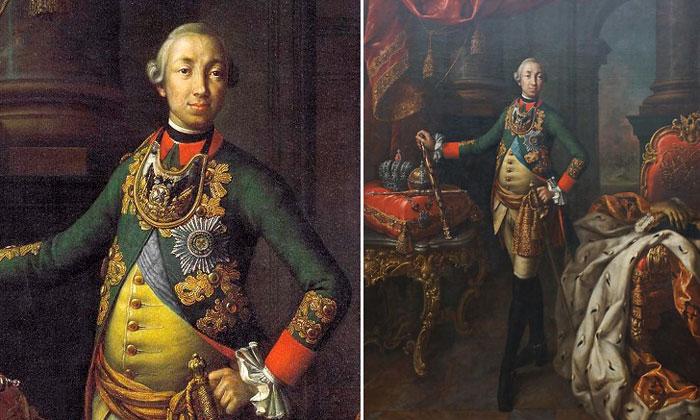Портрет Петра III Третьяковки Москвы