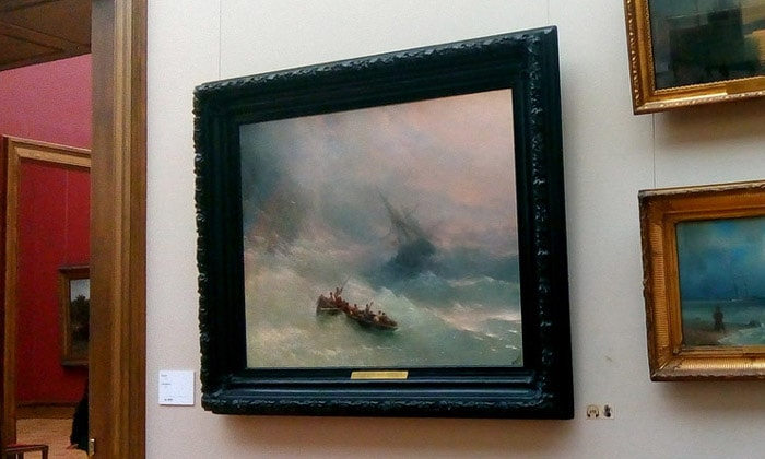 Картина «Радуга» Третьяковской галереи Москвы
