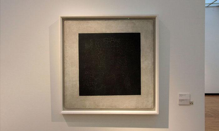 Картина «Чёрный квадрат» Третьяковки Москвы