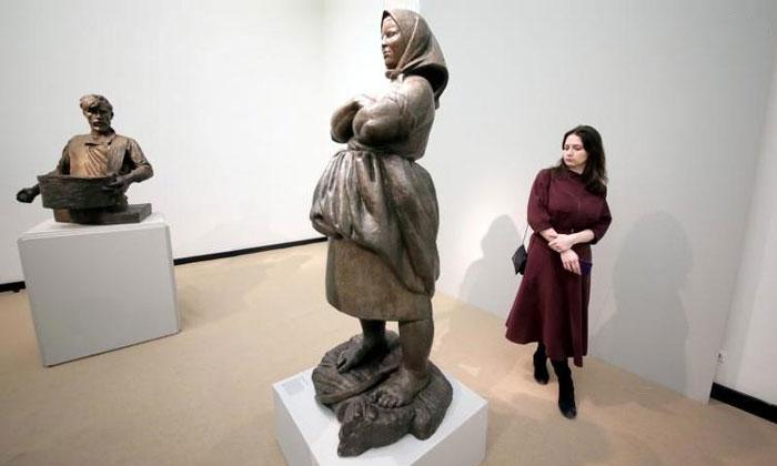 Скульптура «Крестьянка» Третьяковки Москвы