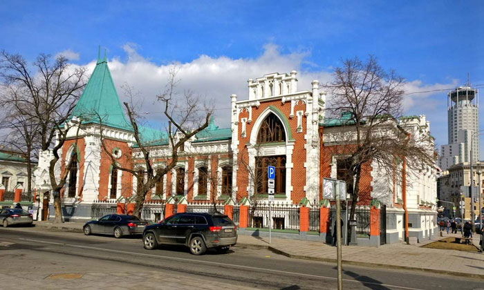 Театральный музей Бахрушина в Москве