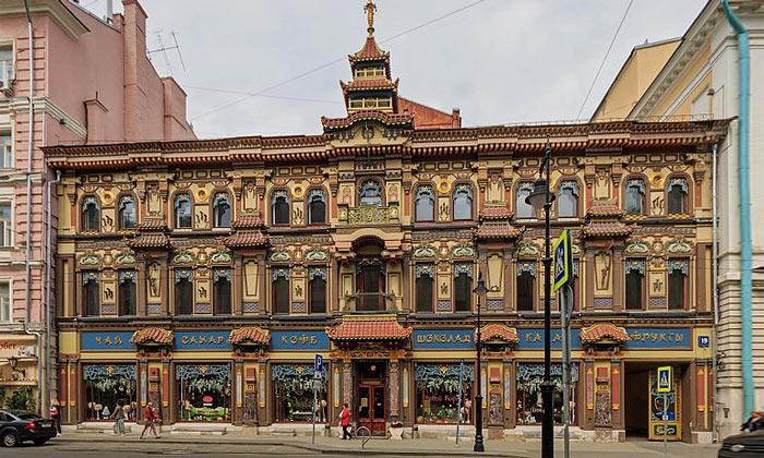 Чайный дом Перлова в Москве