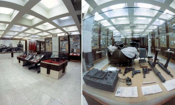 Экспозиция музея ФСБ в Москве