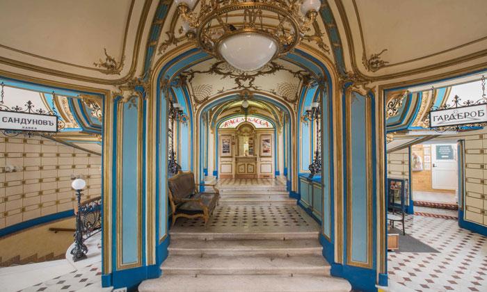 Интерьер Сандуновских бань Москвы