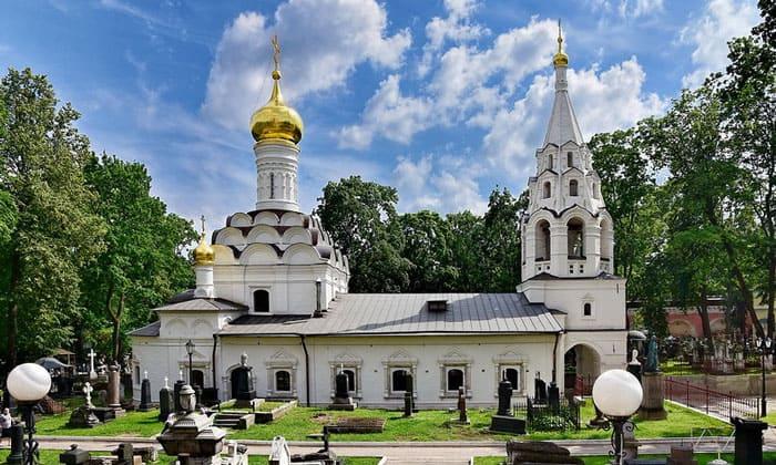 Малый собор Донской Богоматери в Москве