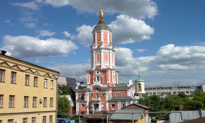Меншикова башня в Москве