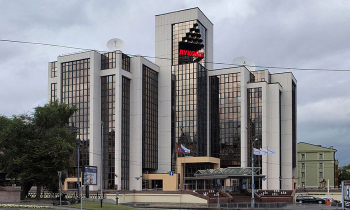Главный офис «Лукойла» в Москве