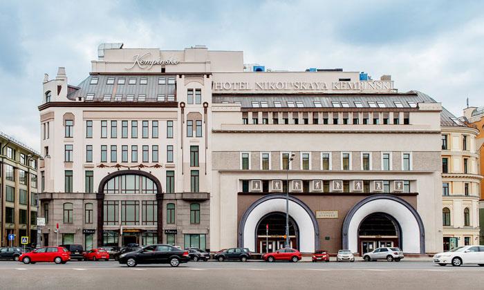 Отель «Nikolskaya» на Лубянке Москвы