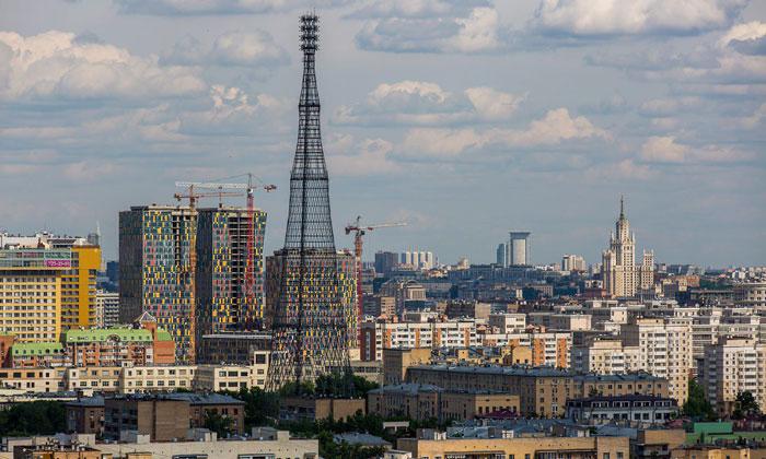 Шуховская башня Москвы