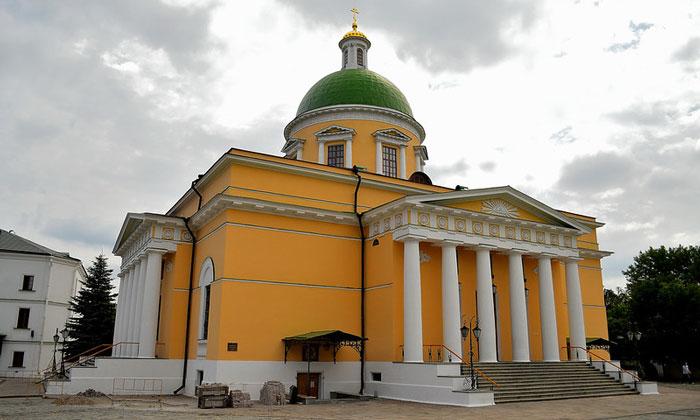 Троицкий собор Даниловского монастыря Москвы
