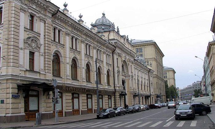 Сандуновские бани в Москве