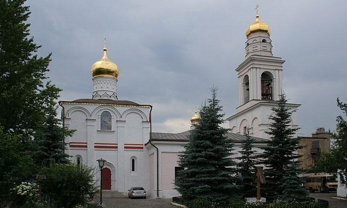 Церковь Рождества Пресвятой Богородицы в Старом Симонове Москвы