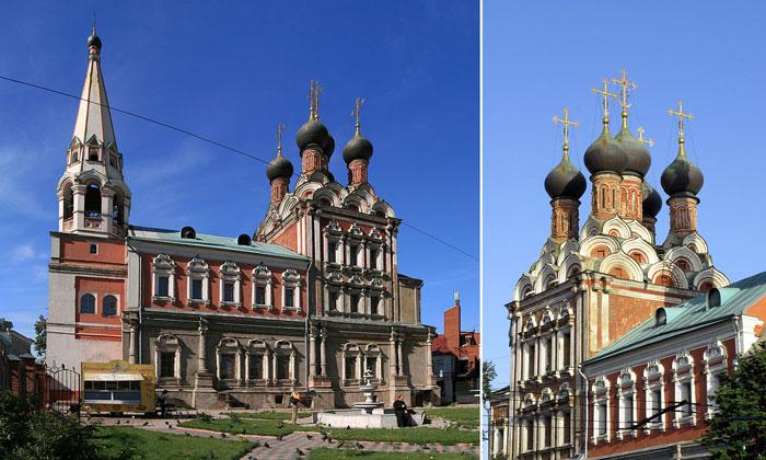 Церковь Николая Чудотворца у Таганских ворот Москвы