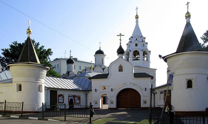 Церковь Никиты за Яузой Москвы