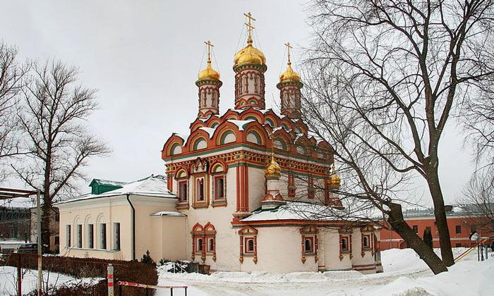 Церковь Николая Чудотворца на Берсеневке Москвы
