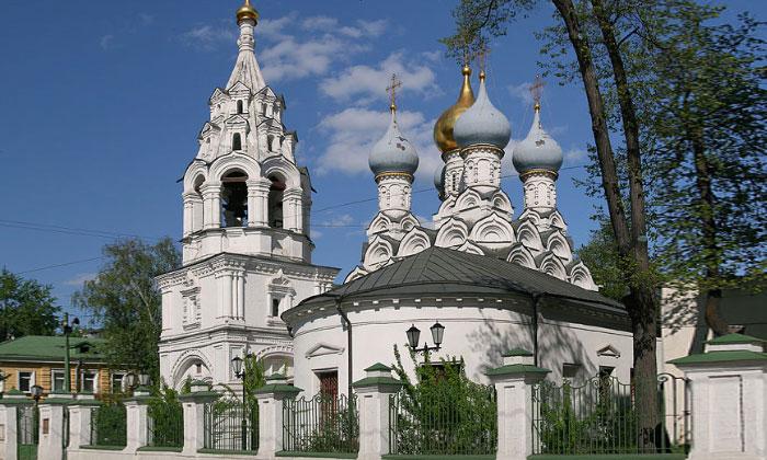Церковь Николая в Пыжах Москвы