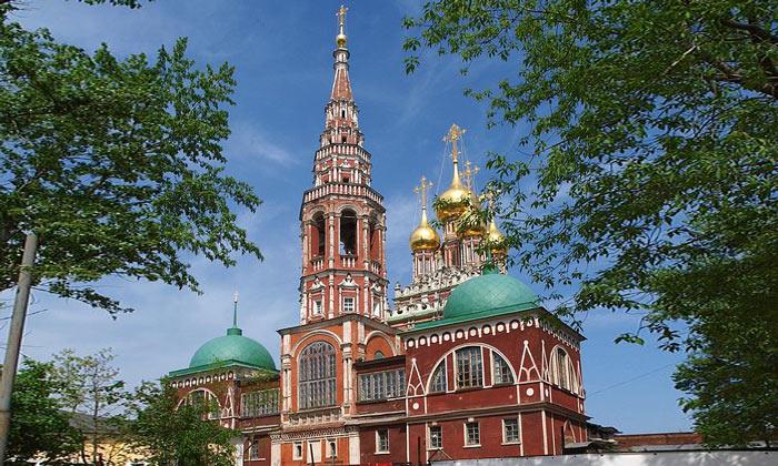 Церковь Воскресения Христова в Кадашах Москвы