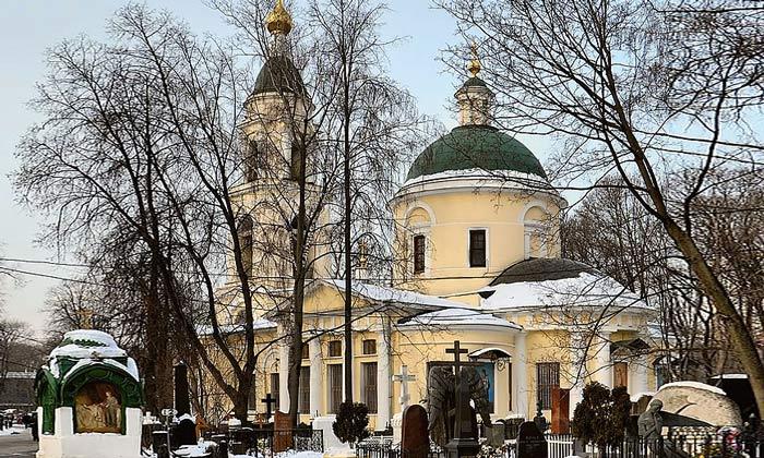 Церковь Воскресения Словущего в Москве