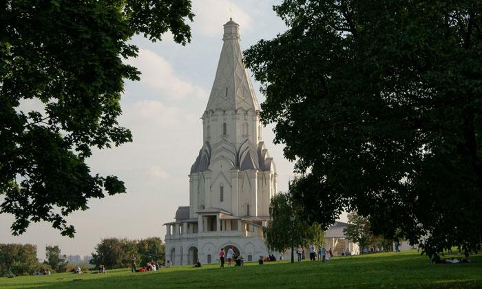 Церковь Вознесения Господня в Коломенском Москвы