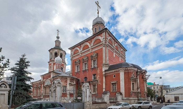 Церковь Введения в Барашах Москвы