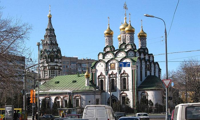Церковь Николы в Хамовниках Москвы