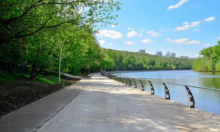Филёвский парк в Москве