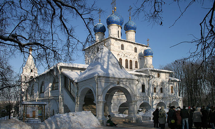 Казанская церковь Коломенского в Москве