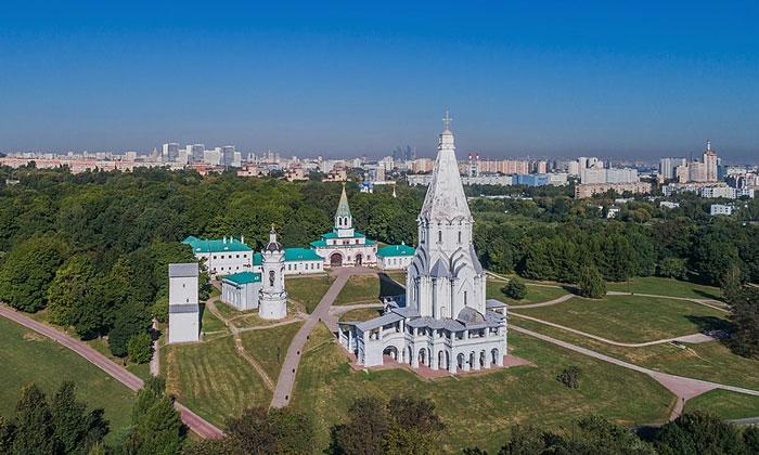 Музей-заповедник Коломенское в Москве