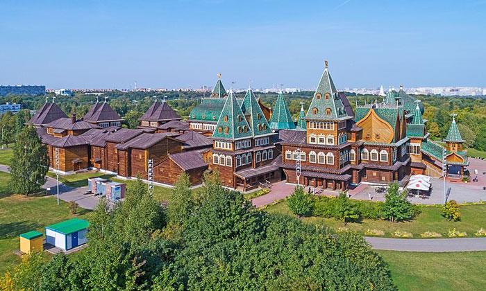 Коломенский дворец Москвы