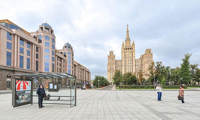 Кудринская площадь в Москве