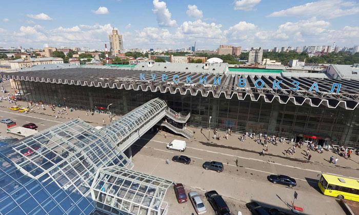 Курский вокзал Москвы