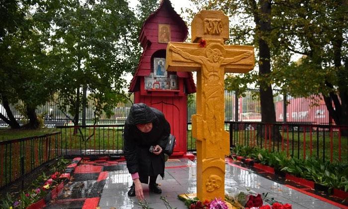 Мемориал октябрьским событиям в Москве