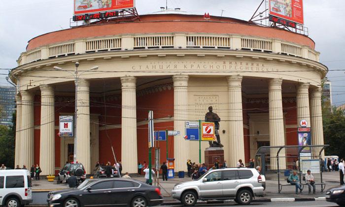 Станция метро «Краснопресненская» в Москве