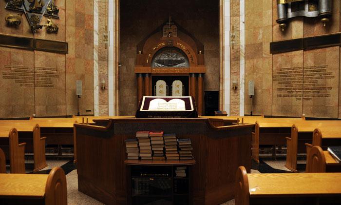 Молельный зал Мемориальной синагоги в Москве
