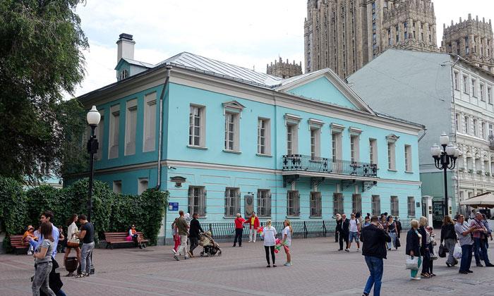 Музей Пушкина на Арбате Москвы