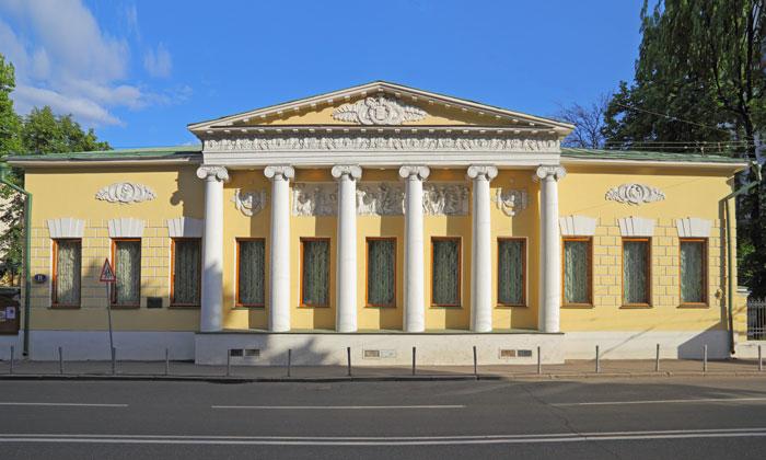 Музей Толстого (особняк Лопухиных) в Москве