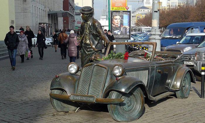 Памятник Никулину в Москве
