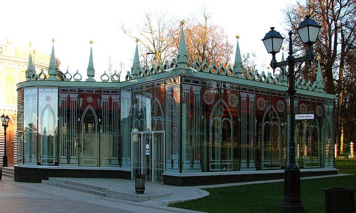 Павильон Управительского дома Царицыно в Москве