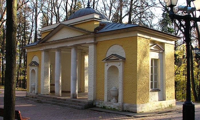 Павильон «Нерастанкино» в Царицыно Москвы